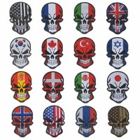 Patch Skull Flags